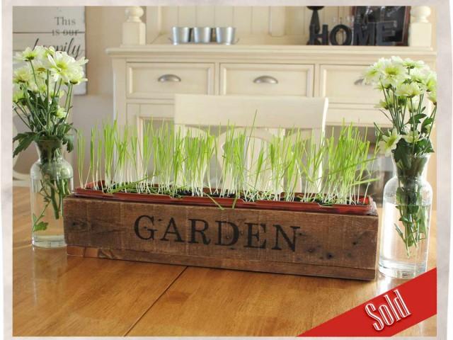 Garden crate box