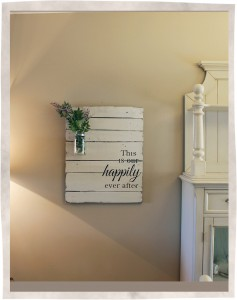 Happily Ever After Sign Wooden