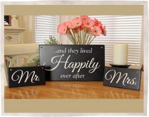 Wedding signs black 2