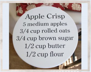 Stool-Apple-Crisp